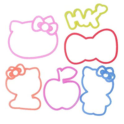 rubber bands Silly Bandz Hello Kitty Bandz: Toys & Games