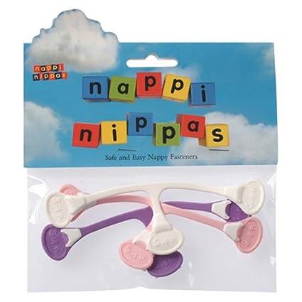 Tots Bots Nappi Nippas - Cierre para pañales de tela (pack de 3)