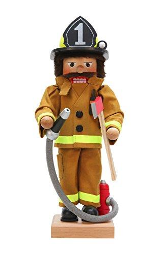 Alexander Taron Christian Ulbricht Decorative Fireman Nutcracker by Alexander Taron