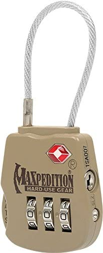Maxpedition Tactical Luggage Lock Khaki