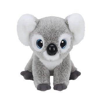 Carletto Ty Koala Kookoo 90235 Ojos Brillantes, Classic, 23 cm, Gris