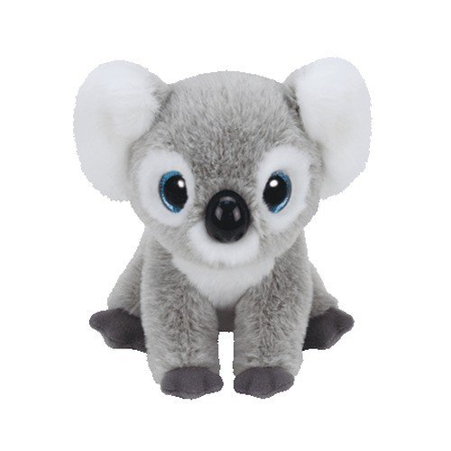Ty Kookoo Koala Plush, Grey, Regular (Ty Animal)