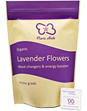 Dried Lavender Buds Prime Grade Royal Purple for Culinary Sachets Aromatherapy Potpourri by Pura Aide