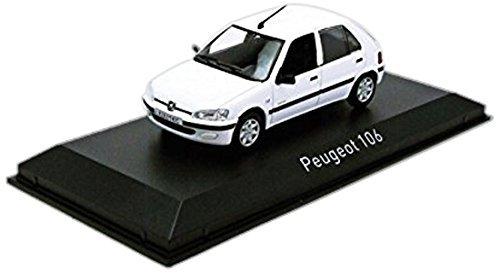 Norev B (1/43) Peugeot 106 Electric 97 White (471,061) car model (Peugeot 106 Cars)