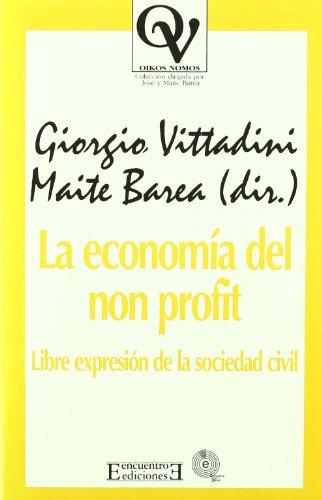 La economía del non profit (Oikos Nomos) María Teresa Barea Mateo