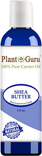 African Shea Butter Oil 4 oz. 100% Pure Natural Skin, Body And Hair Moisturizer. DIY Butters, Lotion, Cream, lip Balm & Soap Making Supplies, Eczema & Psoriasis Aid, Stretch Mark Product - African Shea Butter Oil