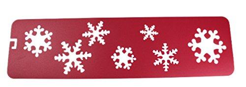 Snow Flake Stencil 7 - Stencils For Christmas Snow