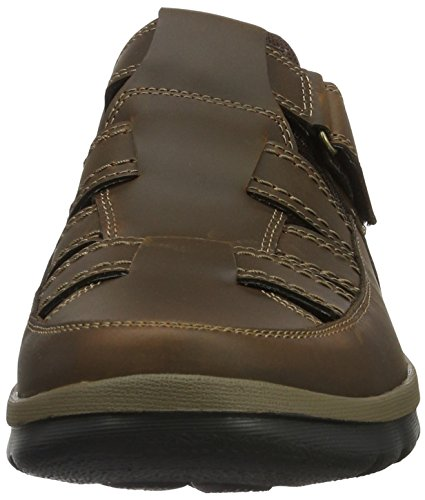 Rockport Gyk Fisherman, Mocasines Hombre Marrón (Foncé)