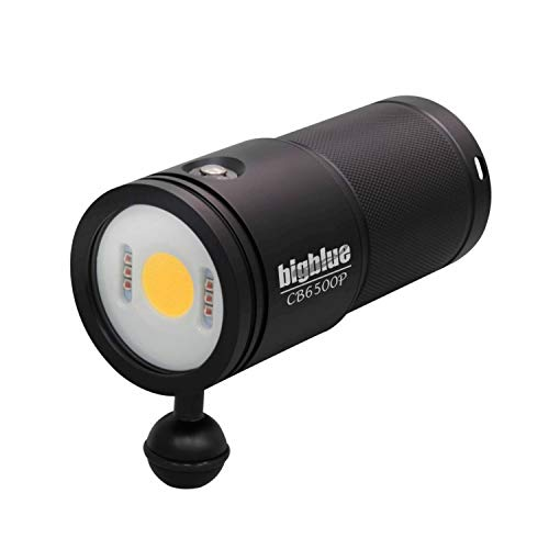 Bigblue CB6500-6500 Lumen Warm White Video Light - 120º Beam Angle