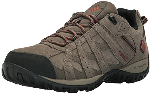 Columbia Men''s Redmond Leather Omni-Tech Low Rise Hiking Boots, Beige...