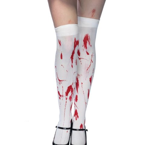 Bloody Zombie Thigh Highs -
