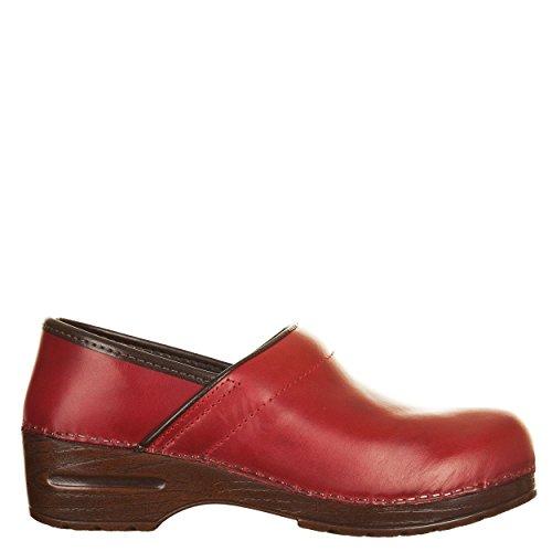 VialeScarpe 38 Mules Femme 7488tfro Rouge pour Sas rrq04