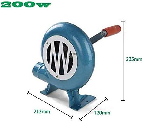 YUANP 200w Extérieur Barbecue Ventilateur Ventilateur Manuel Ventilateur Manuel Fer équipement Pop-Corn