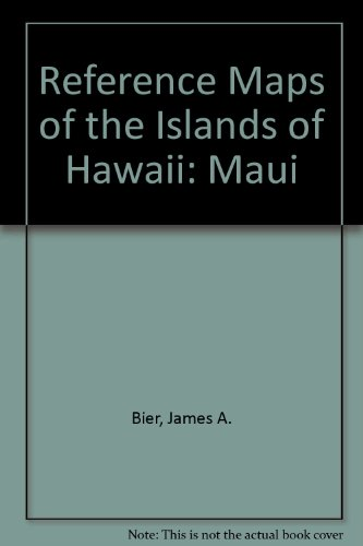 Map of Maui the Valley Isle: Reference Maps of the Islands of Hawaii Folded