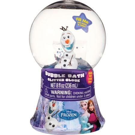 (Disneys Frozen Bubble Bath Glitter Globe, 8 fl oz by MZB Accessories)