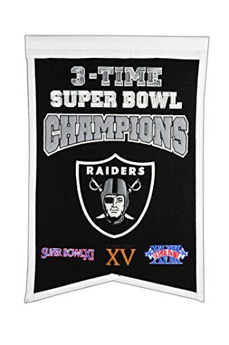 (NFL Oakland Raiders Super Bowl Champions Banner)