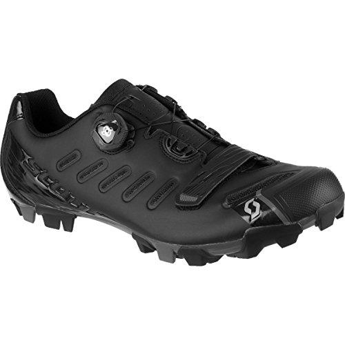 Scott Mens MTB Team Boa Bike Shoes - 251829 (Matt Black/Gloss Black - 47)