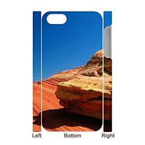 YCHZH Phone case Of Gobi landscape Cover Case For Iphone 4/4s