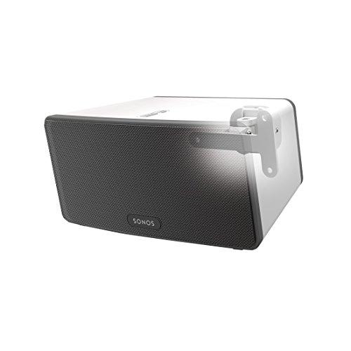 Hama Wandhouder (voor Sonos PLAY:3, luidspreker, volledig beweegbare wandhouder (360° draaibaar, kantelbaar, draaibaar…