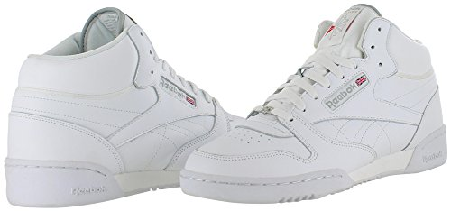 on sale 67953 deca9 ... Кроссовки Reebok Classic Exertion Mid Reebok Classic Men s Exertion Mid  Sneakers Shoes White Size 10 ...