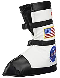 Aeromax ABT-MED Astronaut Boots, White, Medium