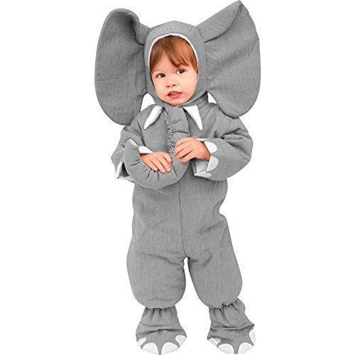 Child's Toddler Heirloom Elephant Costume (2-4T -