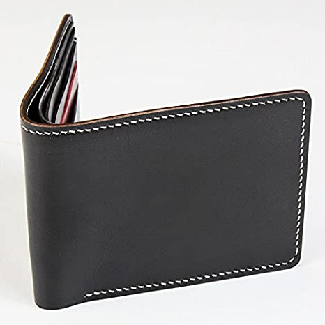 d4a34648a5b7 WUTA Leather Mens Bifold Wallet Pattern Acrylic Template WT915-B