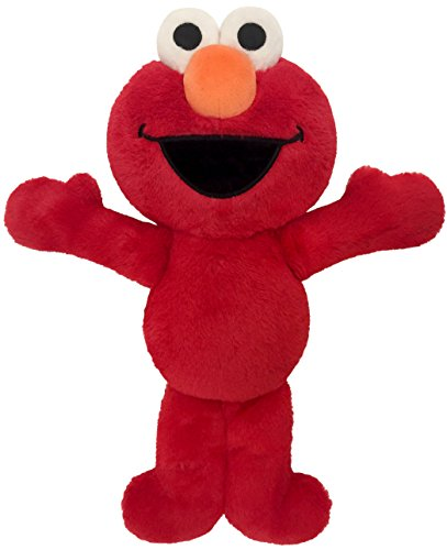 Jay Franco Sesame Street Plus Stuffed Red Elmo Pillow Buddy - Super Soft Polyester Microfiber, 20