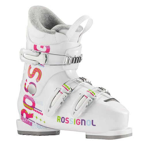 - Rossignol Fun Girl J3 Ski Boot - Girls' White, 20.5