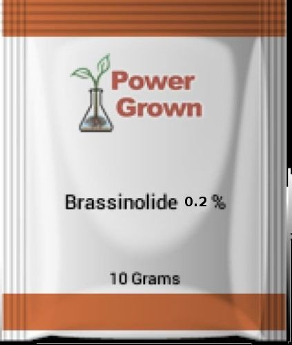 Brassinolide 0.2% Water Soluble 10g with Instructions by Power Grown ()