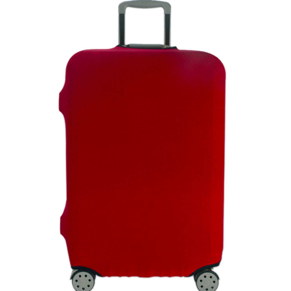 XRDSS Luggage cover Travel Suitcase Cover Protector Fit for 18-32 Inch Luggage Red XL