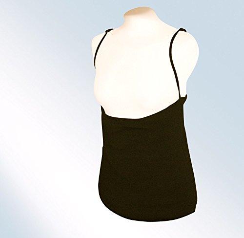 Breastvest Nursing Vest-Black (Size: M/12-14)