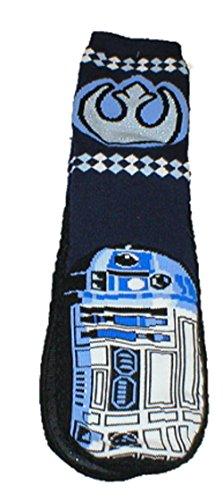 Star Wars R2d2 Toffel Strumpor Med Gripare