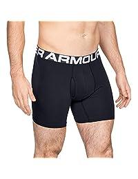 """Under Armour Men's Charge Cotton 6"""" Boxerjock Boxer Briefs (3 Pack)"""