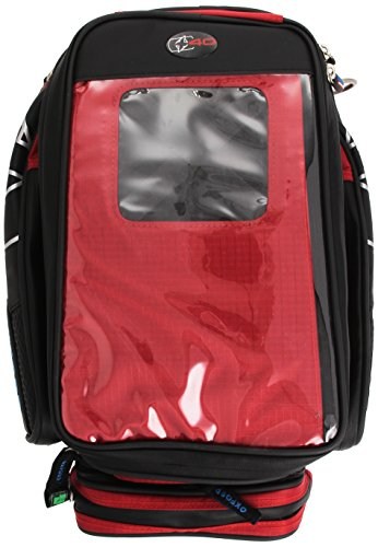 Oxford OL136 X40 Red Magnetic Motorcycle Tank Bag