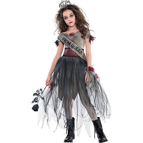 AMSCAN Prom Corpse Costume Halloween Costume for Girls, Large, with Included Accessories ()