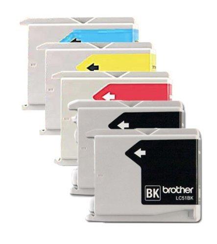 Printronics Genuine Brother LC51 (LC-51) Color (2xBk/C/M/...