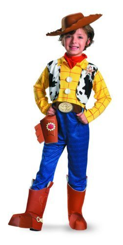 Woody Deluxe Child - Size: 3T-4T (Woody Costume)