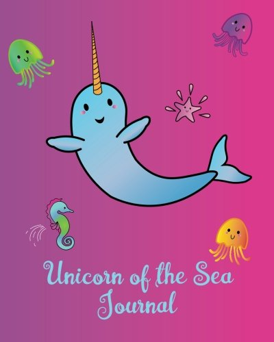 """Download Unicorn of the Sea Journal: Narwhal Bullet Dot Grid Notebook - 8"""" x 10"""" Diary, 1/4 inch Dot Grid with 160 Pages, Sturdy Matte Softcover Blank Dotted ... Diary for Girls, Boys, Teens, Men & Women PDF"""