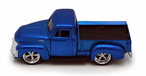 1953 Chevy Pickup Truck, Blue - Jada Toys Just Trucks 97007 - 1/32 scale Diecast Model Toy Car (Brand New, but NO BOX)