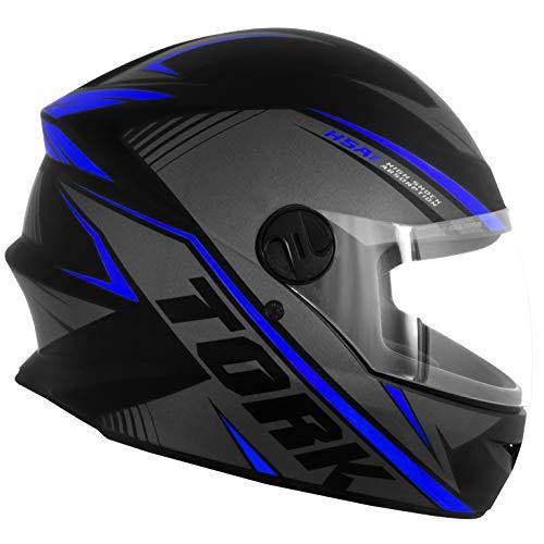 Pro Tork Capacete R8 Fosco Tamanho 58 Cinza/Azul