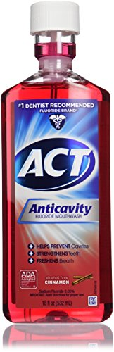 Accu-chek Compact Plus Act Anticavity Fluoride Rinse, Cin...