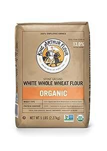Amazon.com : King Arthur Flour 100% Organic White Whole