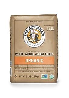King Arthur Flour 100% Organic White Whole Wheat Flour, 5 Pound (Pack of 6) (B001HTL44O) | Amazon price tracker / tracking, Amazon price history charts, Amazon price watches, Amazon price drop alerts