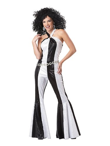 Dancing Queen Costume - Large - Dress Size 10-12