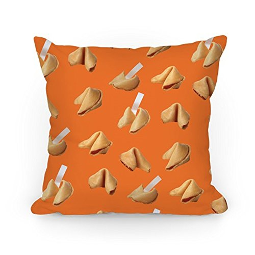 (Jay94 Fortune Cookie Pillow (Orange) Cushion Covers Throw Pillow Case 18×18 inch)