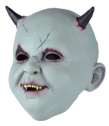 Bristol Novelty BM516 Baby Devil Mask Latex (One Size)