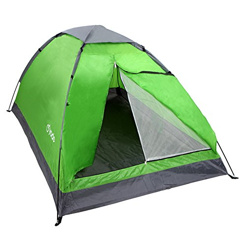 yodo Upgraded Lightweight 2 Person Camping Backpacking Tent with Carry Bag, Green - Backpack Tent