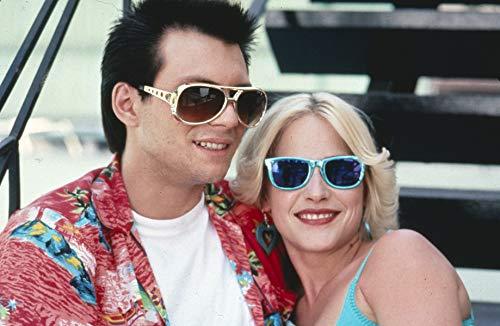 (True Romance Original 35mm Photo Slide Christian Slater Patricia Arquette)