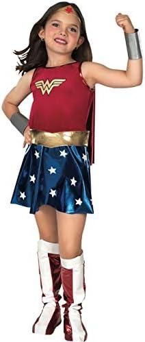 Rubie's Costume de Wonder Woman pour Jeune Fille 147cm Taille 8 à 10Ans